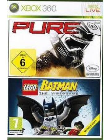 Lego Batman The Videogame + Pure Xbox 360 NAUDOTAS