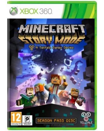 Minecraft Story Mode Xbox 360 NAUDOTAS