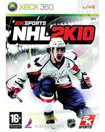 NHL 2K10 Xbox 360 NAUDOTAS