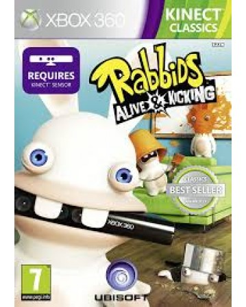Rabbids Alive And Kicking Xbox 360 NAUDOTAS