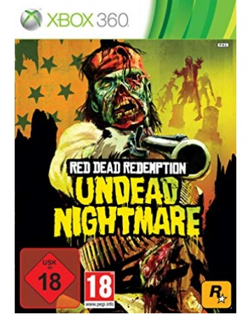 Red Dead Redemption Undead Nightmare Xbox 360 NAUDOTAS