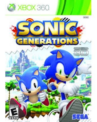 Sonic Generations Xbox 360 NAUDOTAS