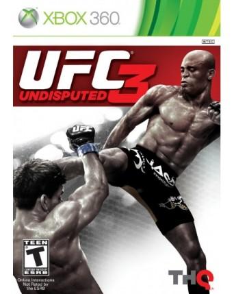 UFC Undisputed 3 Xbox 360 NAUDOTAS