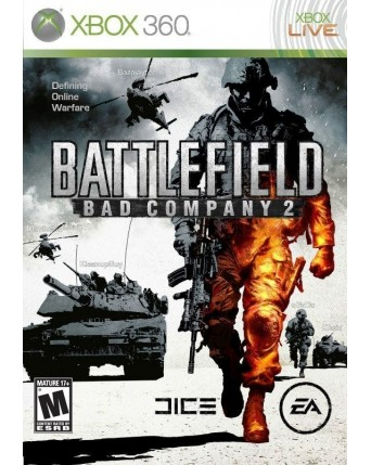 Battlefield Bad Company 2 Xbox 360 NAUDOTAS