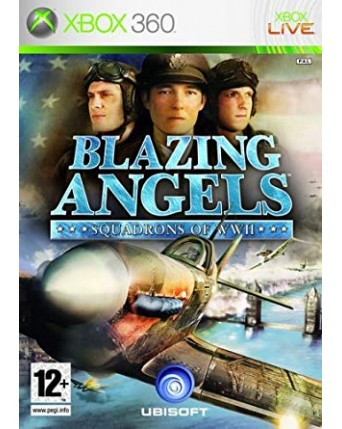 Blazing Angels Squadrons of WWII xbox 360 naudotas