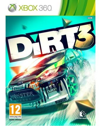 Dirt 3 Xbox 360 NAUDOTAS