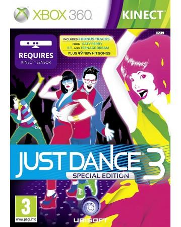 Just Dance 3 Xbox 360 NAUDOTAS