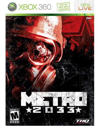 metro 2033 xbox 360 NAUDOTAS