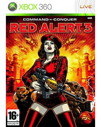 Command & Conquer: Red Alert 3 xbox 360 naudotas