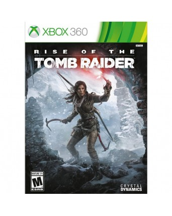 Rise of the tomb Raider xbox 360 naudotas