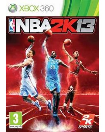 NBA 2K13 Xbox 360 NAUDOTAS