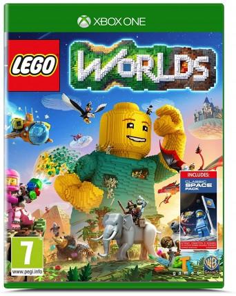 Lego Worlds xbox one NAUDOTAS