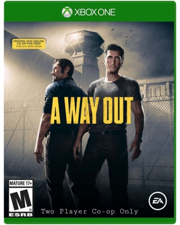 A Way Out Xbox One NAUDOTAS