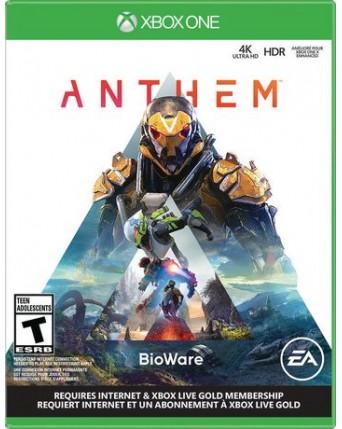 Anthem Xbox One NAUDOTAS