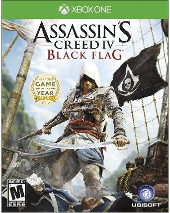 Assassins Creed IV Black Flag Xbox One NAUDOTAS