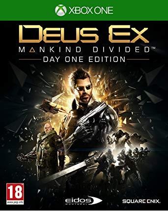 Deus Ex Manking Divided Xbox One NAUDOTAS