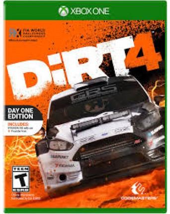 Dirt 4 Xbox One NAUDOTAS