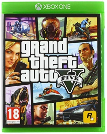 Grand Theft Auto V Xbox One NAUDOTAS