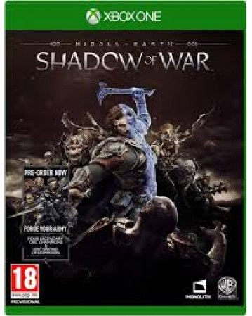 Middle Earth Shadow Of War Xbox One NAUDOTAS