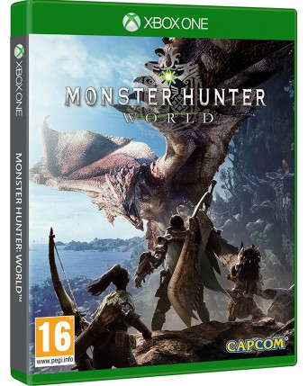 Monster Hunter Xbox One NAUDOTAS