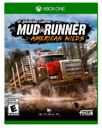 Spintires Mudrunner American Wilds Xbox One NAUDOTAS