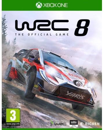 WRC 8 XBOX ONE NAUJAS