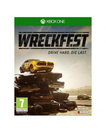 Wreckfest Drive Hard Die Last xbox one NAUDOTAS