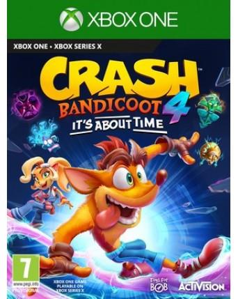 Crash Bandicoot 4: It's About Time XBOX ONE NAUJAS