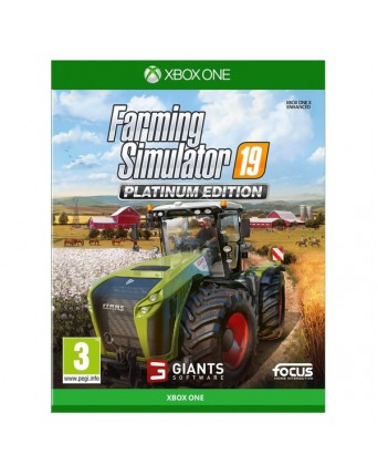 Farming Simulator 19 Platinum Edition Xbox One NAUJAS