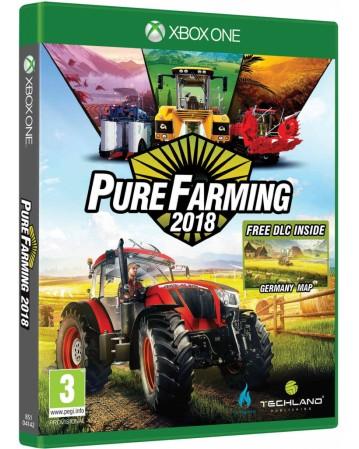 pure farming 2018 xbox one naudotas