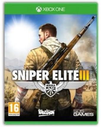 Sniper Elite III xbox one NAUDOTAS